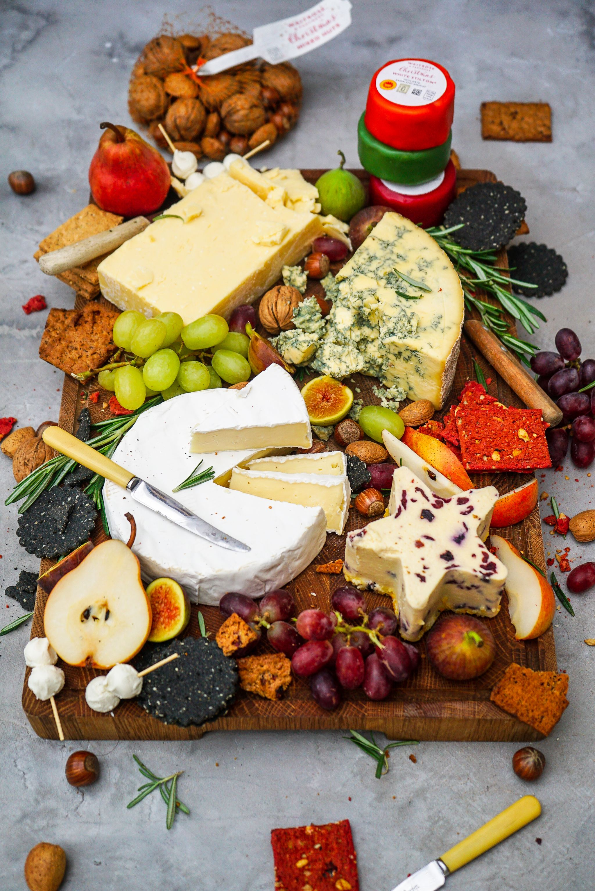 Christmas Cheese Board.The Perfect Christmas Cheeseboard Katie Pix And Waitrose